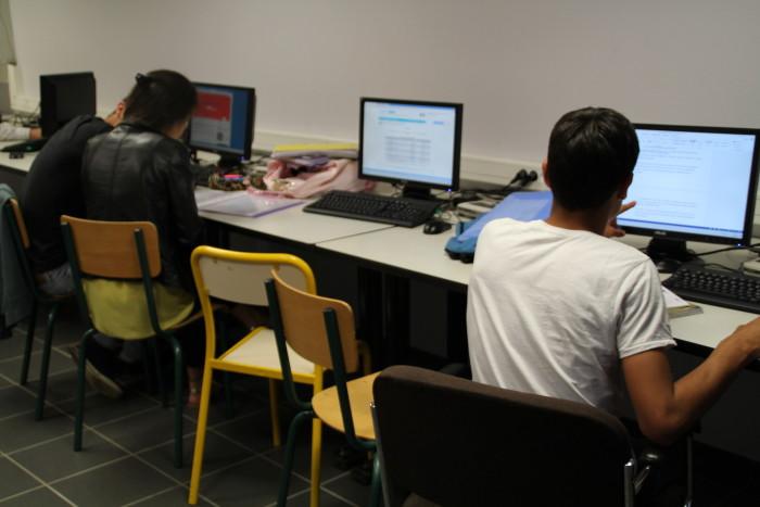 internat salle informatique