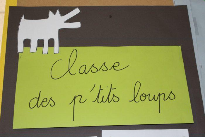 CLASSE DES P TITS LOUPS MATERNELLE