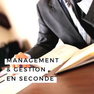Option Management Gestion lycée privé Landes