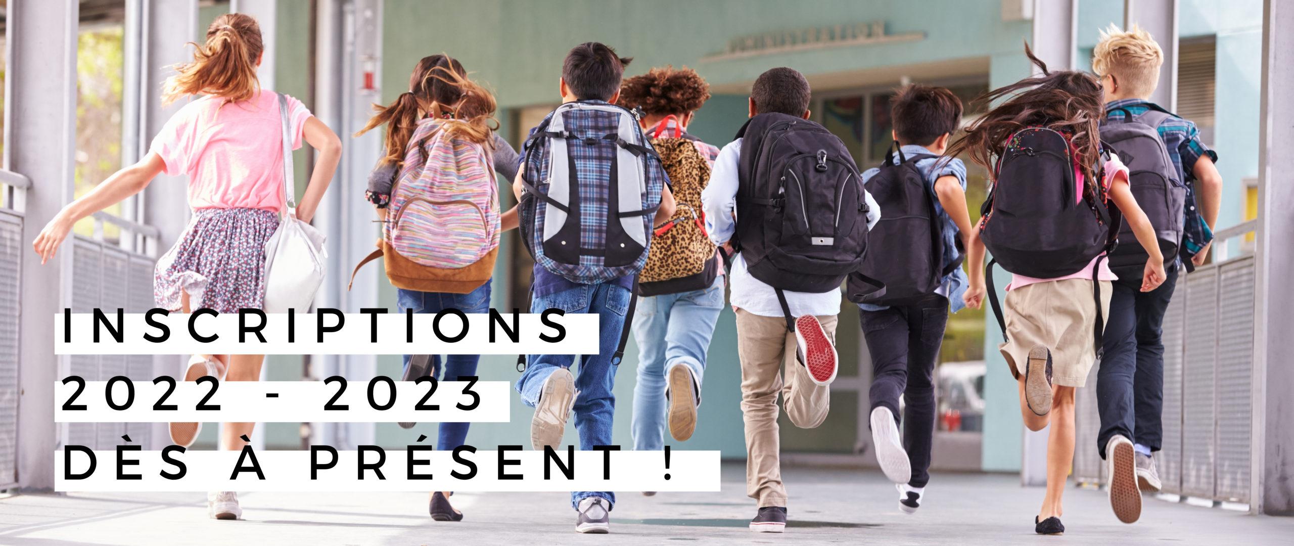INSCRIPTIONS 2022-2023